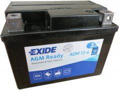 EXIDE BIKE 12V 3Ah 50A, AGM12-4