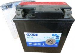 EXIDE BIKE 12V 6Ah 100A, ETX7L-BS