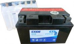 EXIDE BIKE 12V 8.6Ah 145A, ETZ10-BS