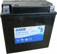 EXIDE BIKE 12V 9Ah 120A, AGM12-9