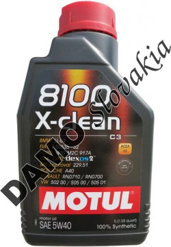 motul 8100 x clean c3 5w 40 1l motorov. Black Bedroom Furniture Sets. Home Design Ideas