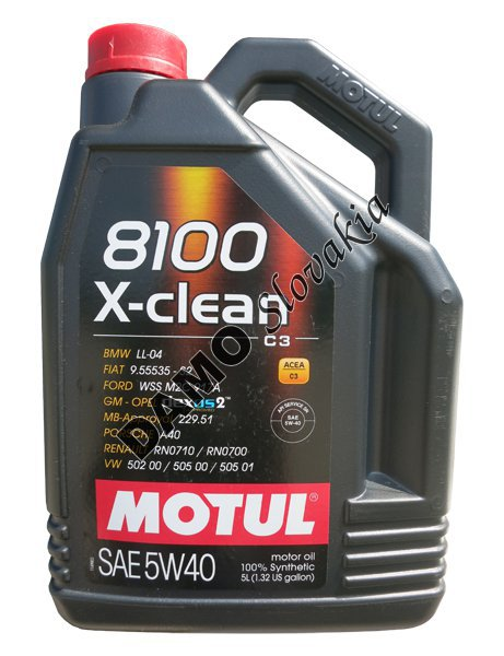 motul 8100 x clean c3 5w 40 5l motorov. Black Bedroom Furniture Sets. Home Design Ideas