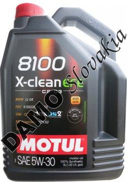 MOTUL 8100 X-CLEAN EFE 5W-30 - 5l