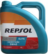 REPSOL ELITE COMPETICION 5W-40 - 4l
