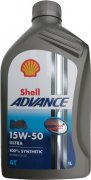 SHELL ADVANCE ULTRA 4T 15W-50 - 1l