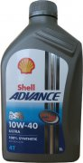 SHELL ADVANCE ULTRA 4T 10W-40 - 1l