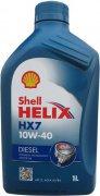 SHELL HELIX HX7 DIESEL 10W-40 - 1l