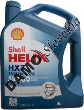 SHELL HELIX HX7 PROFESSIONAL AV 5W-30 - 5l