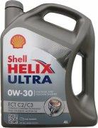 SHELL HELIX ULTRA ECT C2/C3 0W-30 - 4l