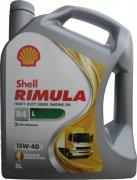 SHELL RIMULA R4 L 15W-40 - 5l