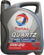 TOTAL QUARTZ INEO LONG LIFE 0W-20 - 5l