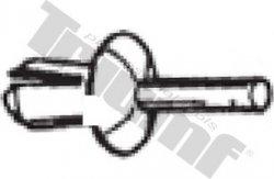 Klipsa s roztláčacím driekom 3,5 x 8,2 mm