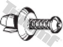 Klipsa so závrtnou skrutkou 6,2 x 11,5 mm