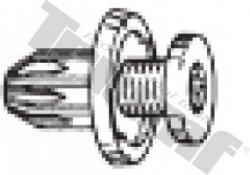 Klipsa so závrtnou skrutkou 10,0 x 14,5 mm