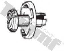 Klipsa s roztláčacím driekom 8,5 x 8,5 mm