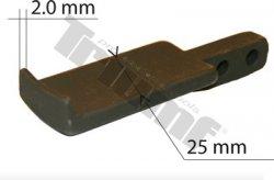 Náhradné ukončenie ramena, hrúbka 2 mm, 1 ks