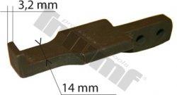 Náhradné ukončenie ramena, hrúbka 3,2 mm, 1 ks