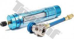Napĺňacia pištoľ hliníková, vhodná na olej a testovaciu kvapalinu klimatizačných kruhov