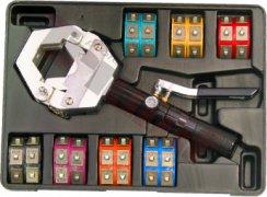 Kliešte hydraulické na lisovanie koncoviek klimatizačných hadíc