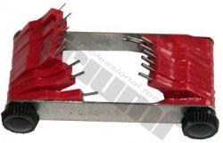 Mierky na trysky 0,45 - 1,50 mm, 20 ks