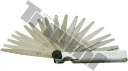Mierky špárové 20 plátkov, rozsah 0,05 - 1,0 mm