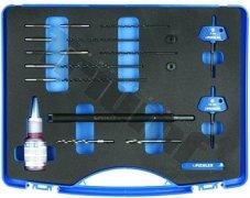 Maxi sada pre odvŕtavanie stredovej elektródy žhavičov, zväčšovanie otvorov