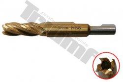 Frézka Ø 9 mm na odvŕtavanie závitu M10 so stredovým otvorom