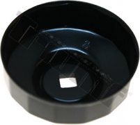 Hlavica na olejové filtre - 74 mm / 15 hran