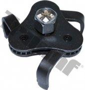 Trojramenný kľúč na olejové filtre dvojsmerný 65 - 125 mm, ploché ramená