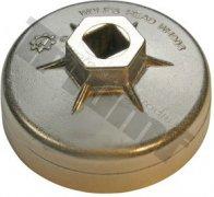Hlavica na olejové filtre hliníková OE 75 mm, GM, Chrysler