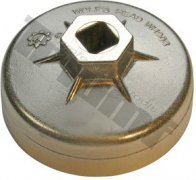 Hlavica na olejové filtre hliníková OE 84 mm, MB V6 CDI