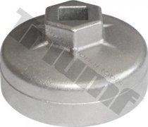 Hlavica na olejové filtre hliníková 64 mm / 14 hran