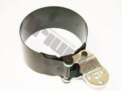 Sťahovací oceľový pás na filtre