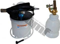 Prístroj na odvzdušnenie brzdového systému, aj ABS