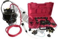 Podtlakový stroj na odvzdušňovanie ABS systémov, nádoba 5 l