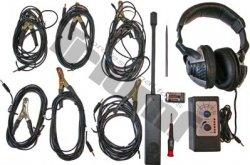 Elektronický stetoskop so slúchadlami 4 - kanálový