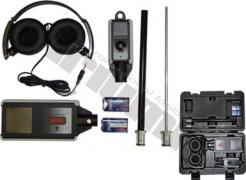Jednokanálový stetoskop s výmenným adaptérom a slúchadlami