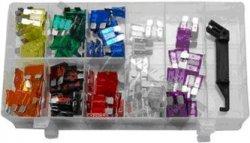 Autopoistky, 97 kusov v plastovom organizéri