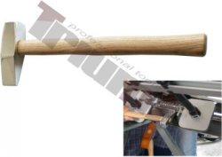 Hliníkové skrútené kladivo, leštený povrch