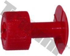 Červené lepiace koliesko D16 - mini 1ks