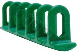 Sada lepiacich adaptérov 6X22X156, 3 ks zelené. triangulárny spodok, k strong pulleru