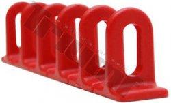 Sada lepiacich adaptérov k Strong Pulleru, 3 ks, červená farba