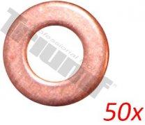 Bodovacie podložky ø 8 x 16 mm, 50 - dielna sada
