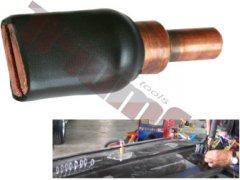 Elektróda na naváranie elipsových podložiek, izolovaná