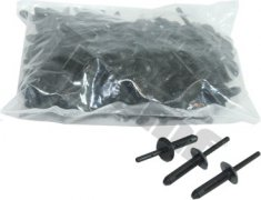 50 ks plastovích nitov 6,3 x 25,2 mm, kotviaci rozsah Ø 4 - 10 mm