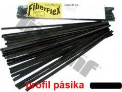 """""""FIBER FLEX"""" plochý pásik 11,0 mm široký, celkom 9,0 m"""