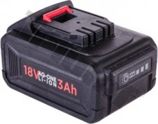Náhradná batéria Li-ion 18V, 3 Ah, AQ-ONE