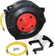 """Automatický navíjací bubon s pneumatickou hadicou 1/4"""" vstupom (9,5x15,5mm), 20 m"""