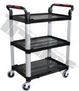 Hliníkový vozík 750x460x980 mm, rozmer ukladacej plochy 630x424 mm