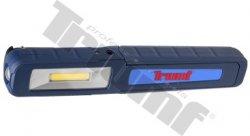 COB LED pracovná lampa 125/250 luxov